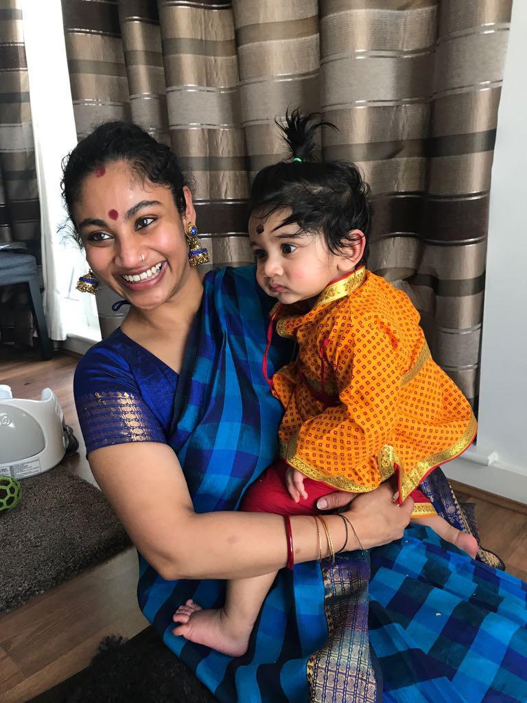 Poorna Sivaraj and son Kailash Kuha Raj